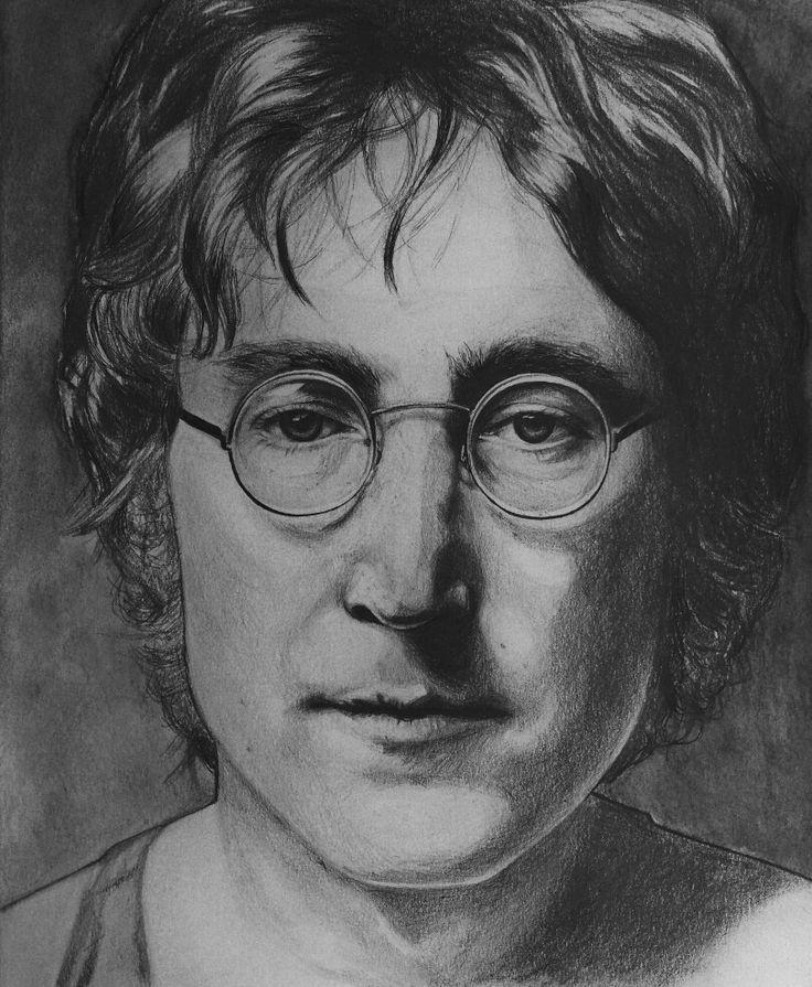 John Lennon #lennon #thebeatles #artwork #blackandwhite #artist #карандаш #рисунок  #sketch #illustration #art #drawing #painting #pencil #artist #instaart #draw #sketchbook #myart #sketching #pen #johnlennonpainting #portraitpainting #johnlennonart #johnlennon