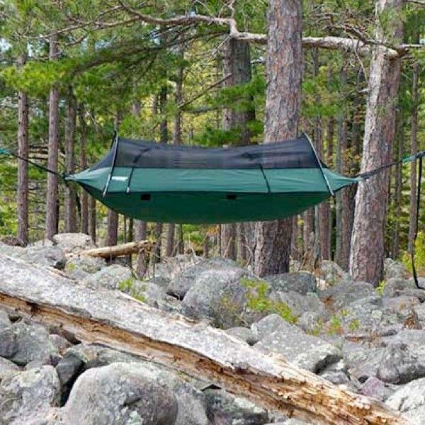 Super Hängemattenzelt. Die Camping Saison steht vor der Tür. #devallor_de #makeityours #camping