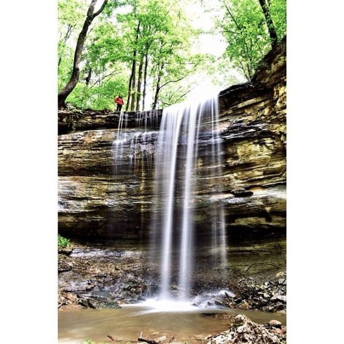 15. Fairmont Falls is Louisville's tallest natural waterfall, which is 40 foot tall. --- Kentucky wonders. More on website. Follow link.