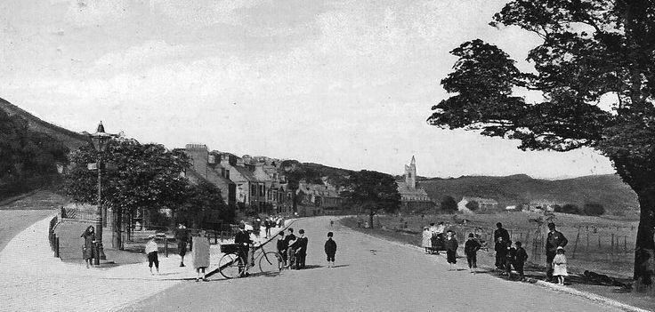 Old photograph of Burntisland, Fife, Scotland