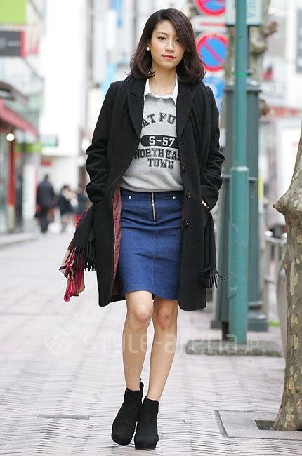 仲宗根菜月さん | H&M Cheek SPINNS ESPERANZA MICHAEL KORS | 2014年3月第1週 | 渋谷 | 東京ストリートスタイル | 東京のストリートファッション最新情報 | スタイルアリーナ