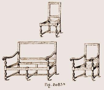 Elegant Sièges Du0027époque Louis XIII