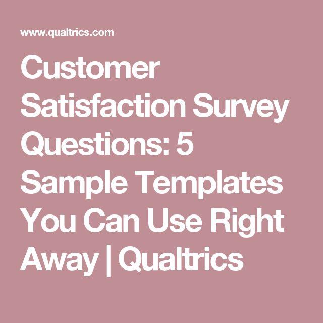 Teki Den Fazla En Iyi Customer Survey Fikri