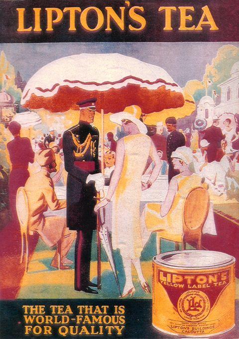 Lipton Tea Advertisement, 1931