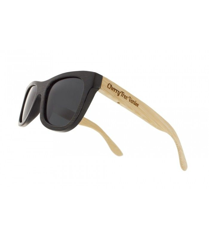 Cherry Tree Venice - Wooden sunglasses Bicolor Bamboo Teak