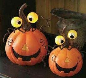Goofy pumpkins