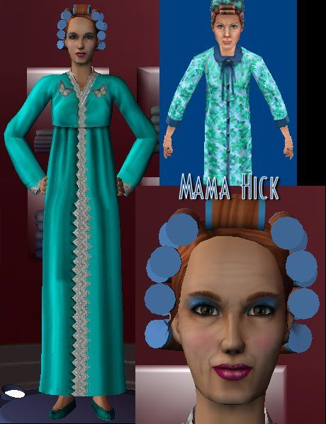 Sims1 for Sims2 - Mama Hicks