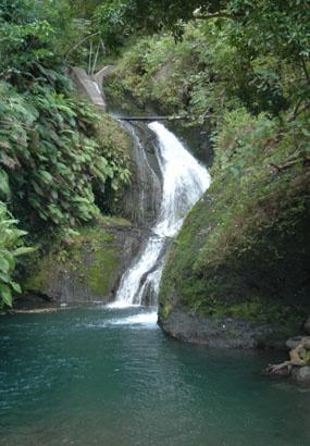 Wigmore's Waterfall, Rarotonga, Cook Islands