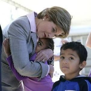 """""""We can overcome evil with greater good."""" Laura Bush"""