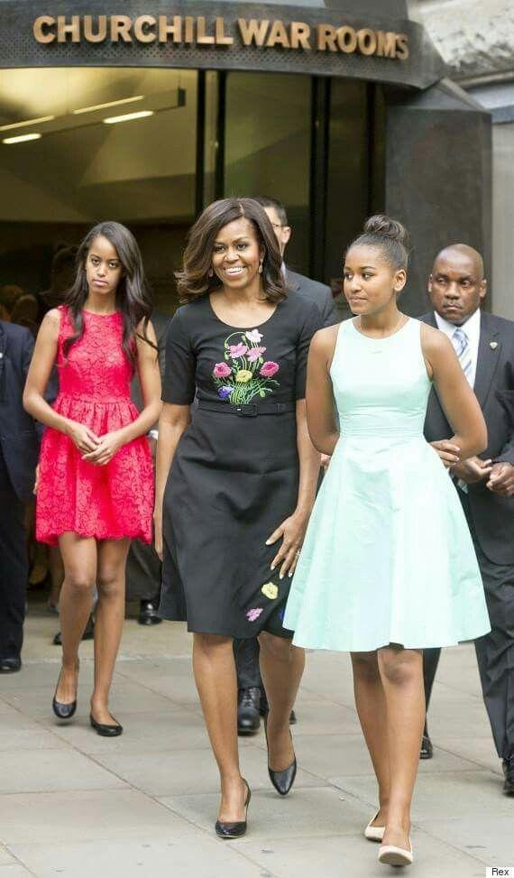 The Obama Ladies