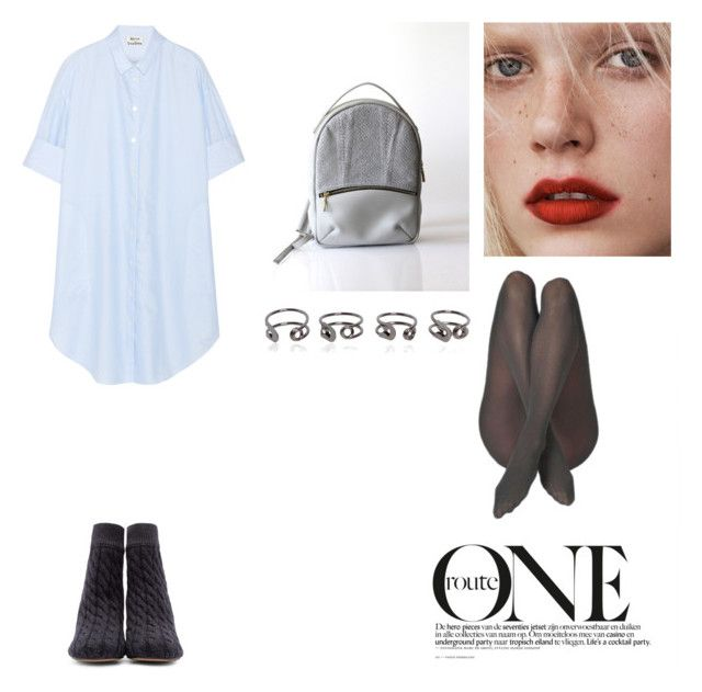 """""""One Look"""" by opelle-creative on Polyvore featuring Acne Studios, Maison Margiela, women's clothing, women, female, woman, misses, juniors and opellebags"""