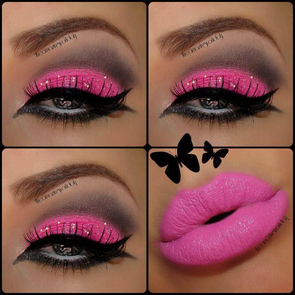 Pink Punk- barbie makeup