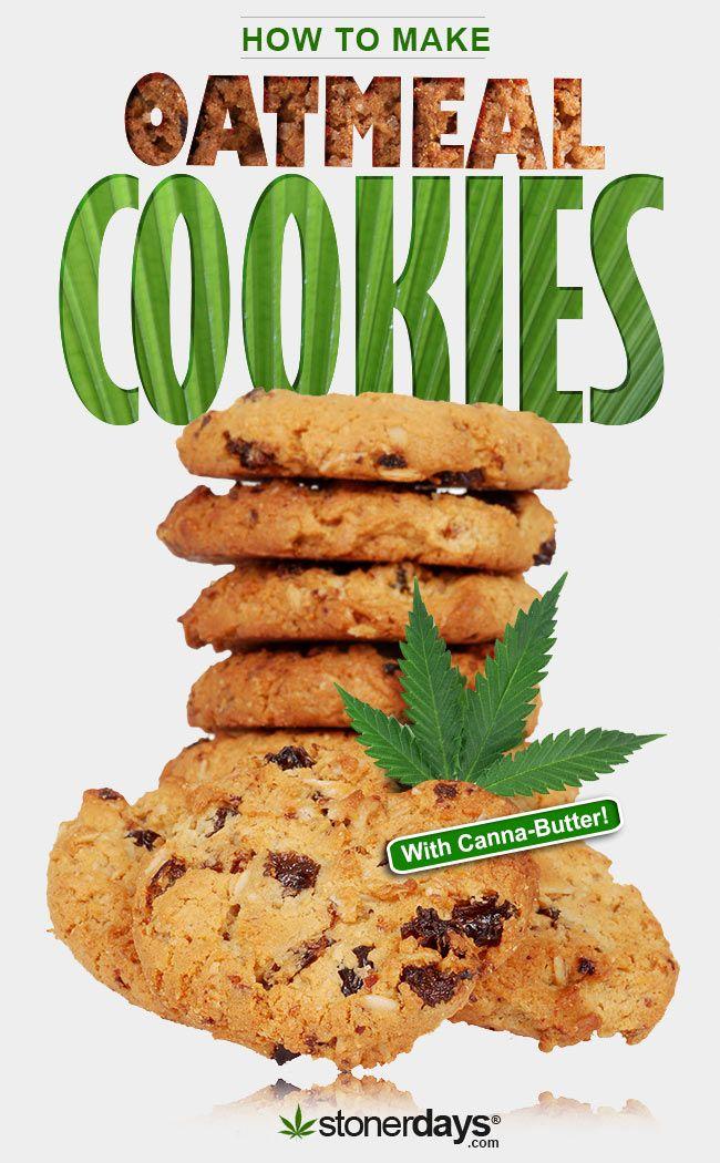 #Oatmeal #Cannabis Cookies