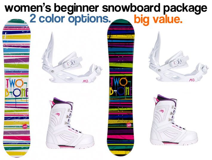 I Found a Great Deal on an All-Mountain Women's Snowboard Package that is Both a Beginner and Intermediate Board. $250. Here's Why I Like It...