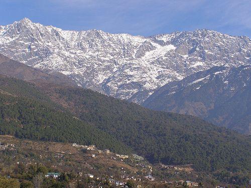 Moonpeak from Dharamsala