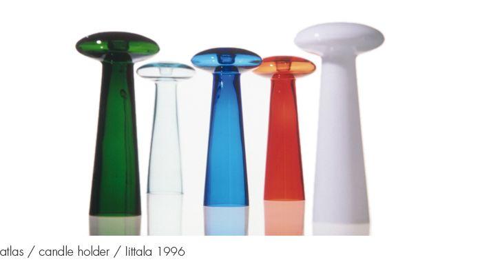 atlas / candle holder / Iittala 1996