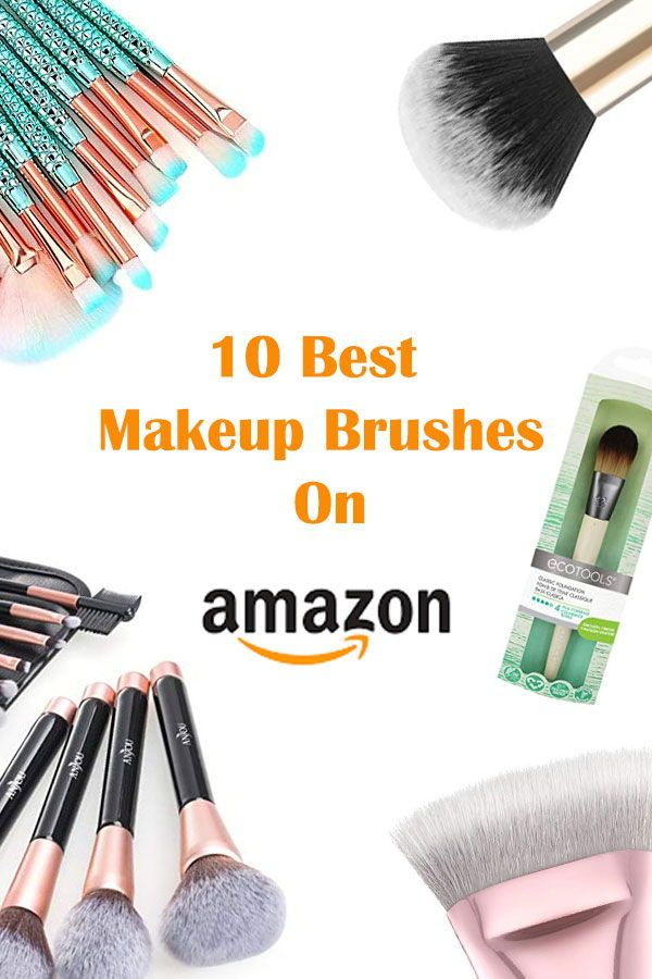 b8bdd5d10e02 The 10 Best Makeup Brushes on Amazon | Makeup and Beauty Trends 2019 ...