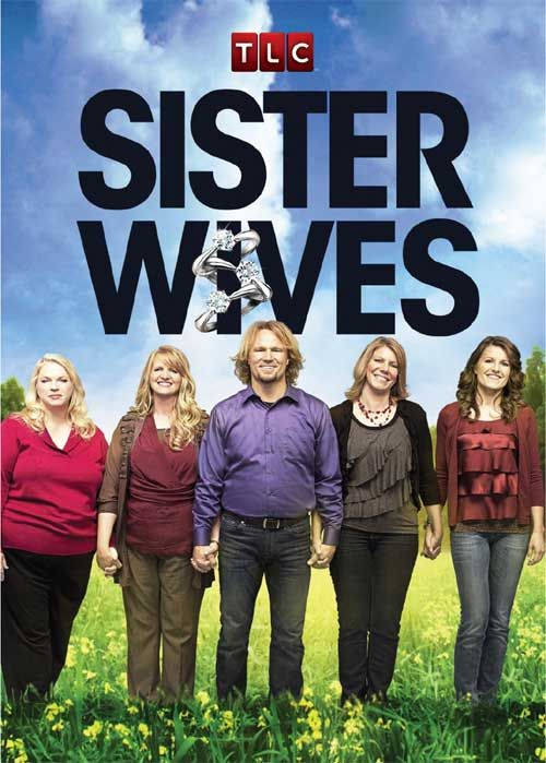 Sister wives.   Don't know why I am so fascinated by these people.  He gives me the creeps.