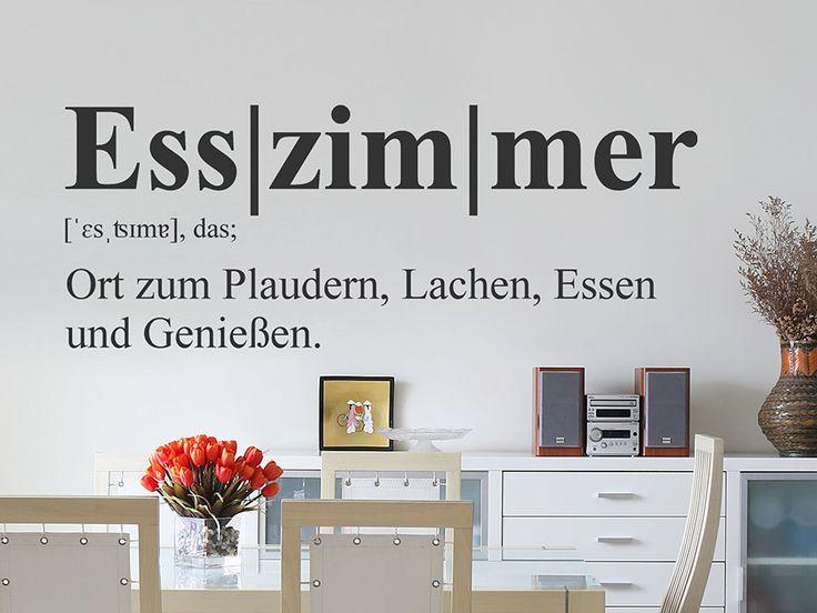 oltre 25 fantastiche idee su wandtattoo esszimmer su pinterest ... - Wandtattoos Küche Esszimmer