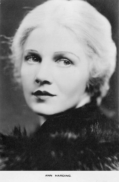 The lovely Ann Harding, star of one of my favorite holiday films It Happened on Fifth Avenue