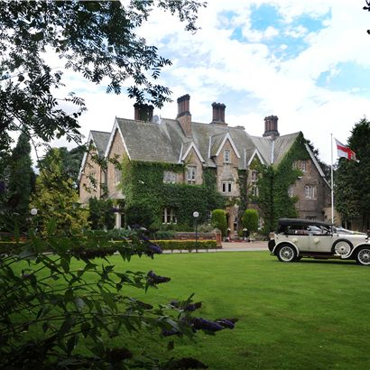 Parsonage Hotel and Spa in York, North Yorkshire for a a romantic wedding venue