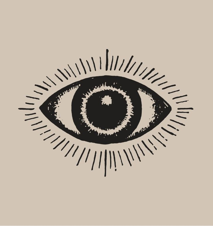 Symbolizing vision + clarity, this pack of hand drawn eyes is part of our latest bundle!