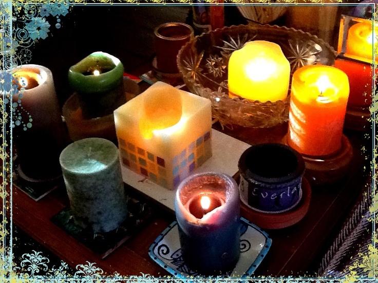 Enciende Una Vela! To keep you company!