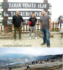Tangkuban perahu tour package 1 Day get lower price Bandung volcano tour