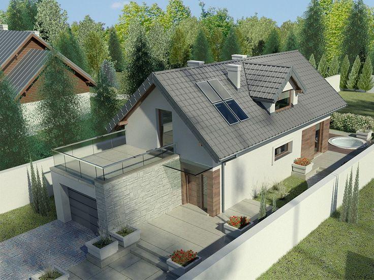 Kolejny projekt z cyklu Domów przy Migdałowej to kontynuacja przyjętych założeń architektonicznych z poprzednich odsłon, czyli: wykorzystanie możliwości działki o ograniczonej szerokości, połączenie nowoczesności i elegancji, optymalizacja programu funkcjonalnego domu z uwzględnieniem aspektów ekonomicznych.
