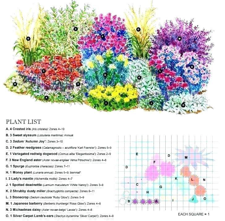 3 season perennial garden plans - Google Search ...