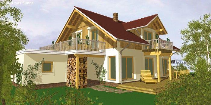 Hulta-Konzepthäuser · Holzhaus bauen · Modul Holzhäuser · Haus aus Holz · Fertig Holzhaus