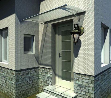 les 25 meilleures id es concernant marquise porte d entr e. Black Bedroom Furniture Sets. Home Design Ideas