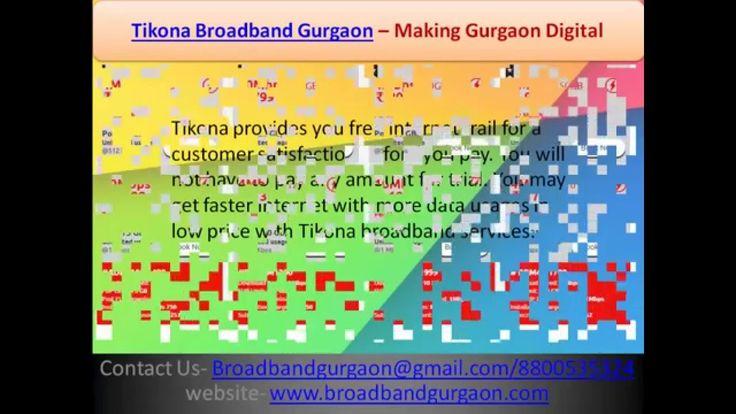 Tikona Broadband Gurgaon