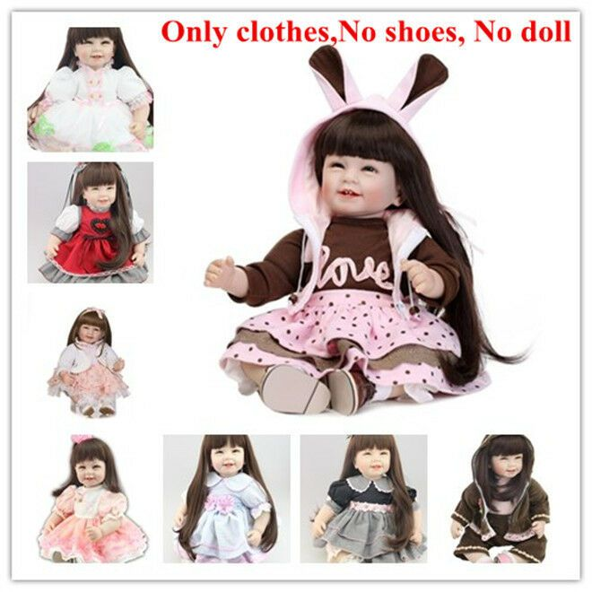 NOT Included Doll Set of Reborn Doll Baby /'s Boy Clothes for 20/'/'-22/'/' Baby