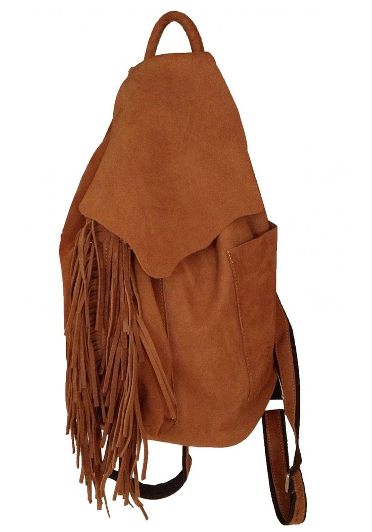 Monique -- Top Grain Cowhide Leather Women's Backpack