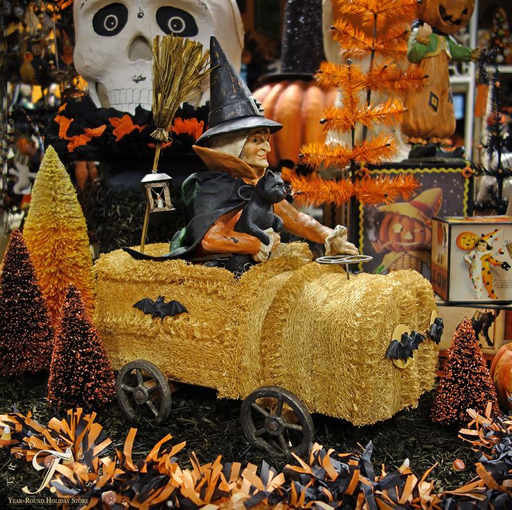 Halloween Home Decor Catalogs: Vintage Halloween Decor! Traditions Year-Round Holiday