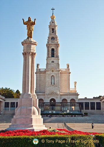 Fatima, Portugal -- beautiful basilica…loved this place!