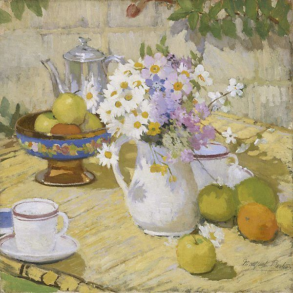 An image of Summer, Margaret Preston 1915