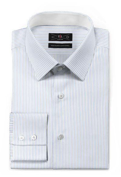 Blue striped 100% cotton Shirt: http://www.tailor4less.com/en-us/men/shirts/3118-blue-striped-100-cotton-shirt