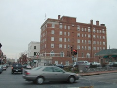 The old Robert E. Lee hotel in Lexington -- UHH - well -- that's all I can say about that for now!