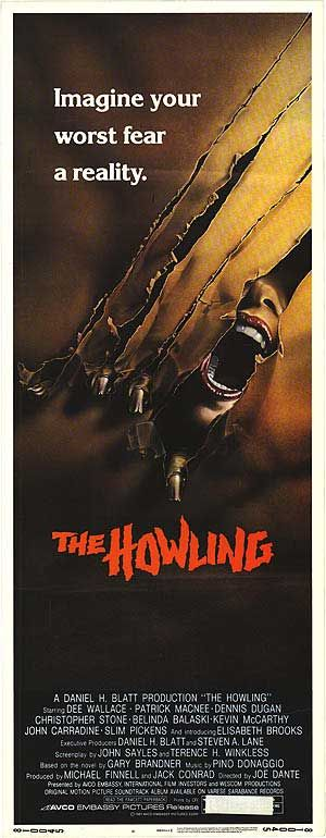 The Howling Movie | Howling movie posters at movie poster warehouse movieposter.com