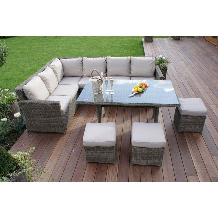 Winchester Outdoor Garden Furniture Is Made From Weatherproof Rattan, This  Is Completely No Hassle Maintenance Free Furniture Which Can Be Left  Outdoors ...