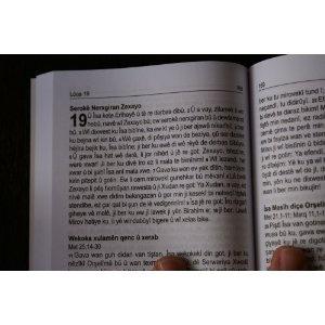 Kurdish Kurmanji Dialect New Testament / Bi Kurdi (Zaravaye Kurmanci) Peymana Nu Injil - Mizginiya Isa Mesih  $27.99