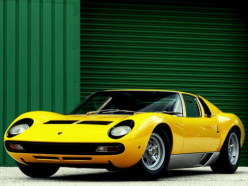 Merveilleux Lamborghini Miura SV