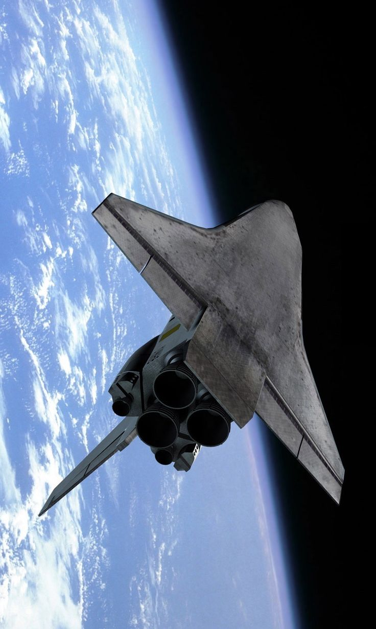 Transbordador espacial.