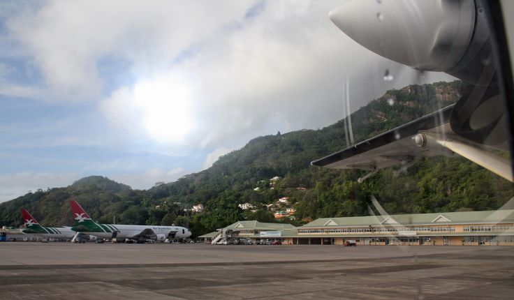 Victoria Seychelles Airport   Aeropuerto International de Seychelles.