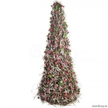 "J-Line Kerstboom piramide h70 <span style=""font-size: 0.01pt;"">Jline-by-Jolipa-25353-landelijke-stijl-dekoratie-online-winkels-online</span>"
