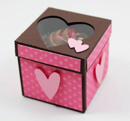 "Yummy ""Mini Cupcake Box"", perfect for Valentines Day!  Awesome video tutorial too!  Made by Beth Beard.  ♥♥♥"