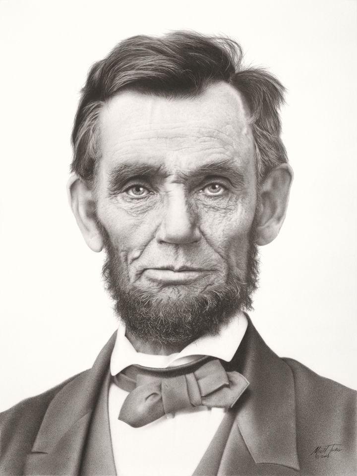 Abraham Lincoln | Pencil drawing