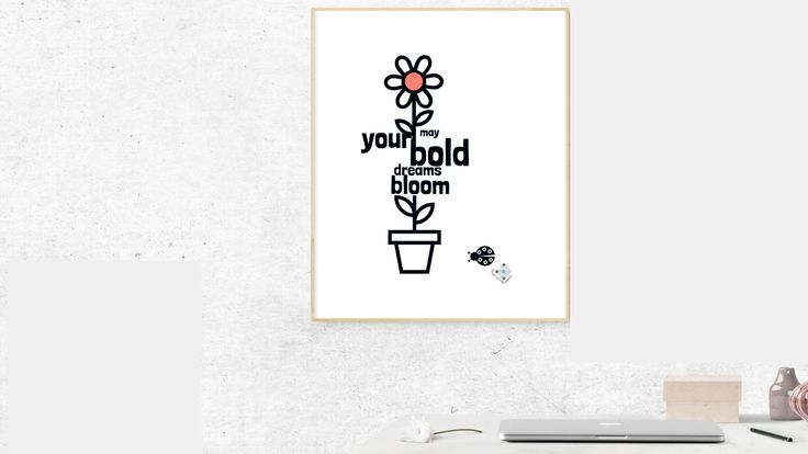 Framed Motivational Wall Art Personalized Floral Framed Poster In 2020 Motivational Art Quotes Inspiring Art Prints Motivational Wall Art